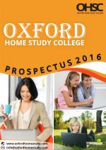Oxford Home Study College Prospectus