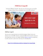 PMP Boot Camp DC