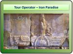 Comprehensive Iran Tours Packages
