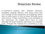 Shopclues Review