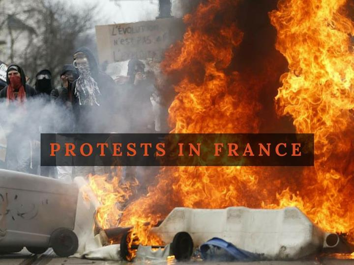 protests in france n.