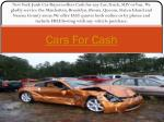 Cash for Car