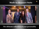 Discover Ladies Made to Measure Suits
