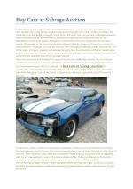 Buy wrecked cars for sale