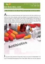 Buy Generic Antibiotics Drugs Online