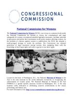 National Commission for Womens