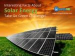 Interesting Facts about Solar Energy in Kansas City