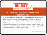 All City Packers & Movers in Andheri, Enjoy Carefree Shifting