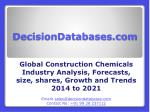 Construction Chemicals Market Research Report: Global Analysis 2014-2021
