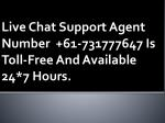 Live Chat Support Australia Service Provider   Call Live Chat Support Agent