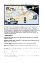 Truths about Stolen Vehicle Recovery and Fuel Tank Monitoring System