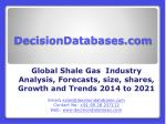 Shale Gas Market 2021 - Industry Analysis, Trends, Size, Share, Forecasts and Demands 2014 to 2021