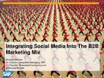 Integrate Social Media Into Your Marketing