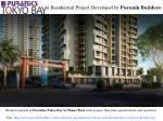 Residential Apartments in Puraniks Tokyo Bay at Ghodbunder Road Thane West for Sale