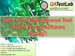 Why is Test Management Tool Helpful During Software Testing?