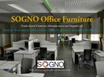 SOGNO Modular Office Furniture and Chairs