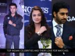 Top Indian Celebrities and Their Love For Watches