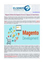Magento Website Development Services Company in United Status