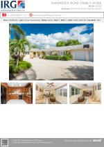 Cayman Residential Property - Shamrock Road Family Home for Sale at Grand Cayman