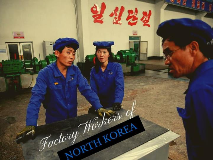 assembly line laborers of north korea n.