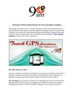 Gps tracking software, employee gps tracking software
