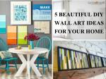 5 Beautiful Diy Wall Art Ideas For Your Home