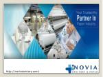 Novia sanitary products raw material supplier in china