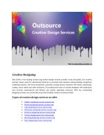 How Creative Design Service Support Media Industry