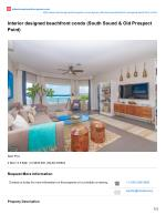 Interior Designed Beachfront Residential Condo Real Estate for Sale at Cayman