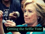 Getting the selfie vote