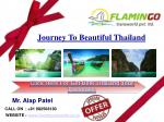 Journey to Beautiful Place - Thailand