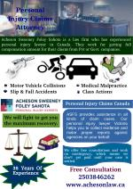 Personal Injury Claims Canada