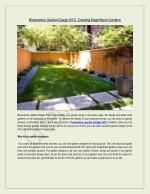 Feel the essence of nature-friendly environment with landscape design New York
