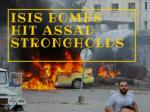 ISIS bombs hit Assad strongholds