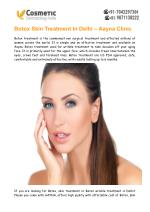 Botox Skin Treatment Delhi – AAYNA (Cosmetic Dermatology India)