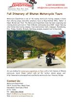 Motorcycle Expeditions in Tibet