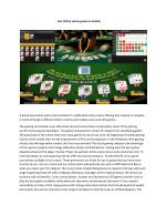 Live Online casino games in mobile