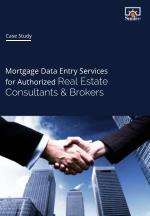 Mortgage Data Entry Services for Authorized Real Estate Consultants & Brokers
