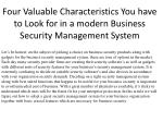 Security Management System - Trackforce