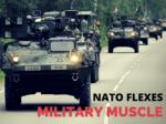 NATO flexes military muscle