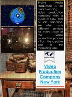 Video Production Company New York