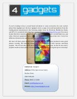 Online Galaxy S5 For Sale