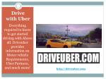 Uber Taxi Service