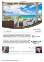 The Pinnacle Residential Property For Sale in the Cayman Islands