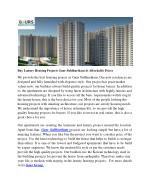 Buy Luxury Housing Projects Gaur Siddhartham At Affordable Prices