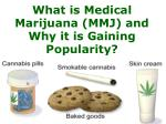 What is Medical Marijuana (MMJ) and Why it is Gaining Popularity?