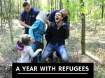 A year with refugees