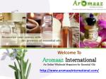 Send best Certified Organic Oils with Resonable Price