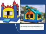 What You Need To Do To Book Bouncy House Rentals?