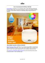 How to use 500ml Essential Oil Diffuser